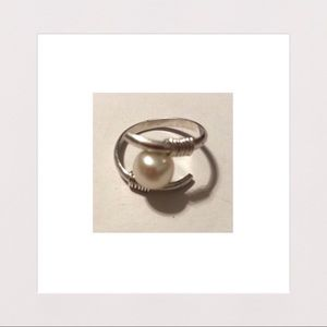 Jewelry - NEW | Handmade Sterling Silver & Pearl Ring